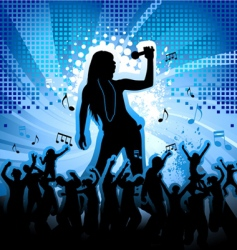Music party vector