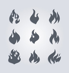 Hot fire vector