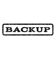 Backup watermark stamp vector