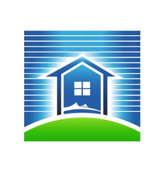 Beach house vector image vector image