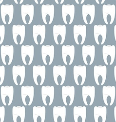 White clean teeth seamless pattern Vetkornyj vector image