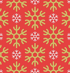 Colorful Christmas Seamless Pattern with vector image