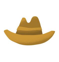 Cartoon style grunge american western cowboy vector