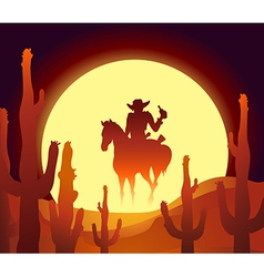Desert rider vector