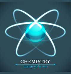 Molecule chemistry background vector