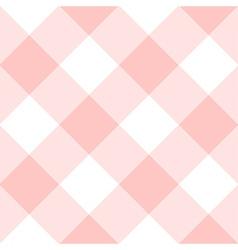 Rose Quartz White Diamond Chessboard Background vector image vector image