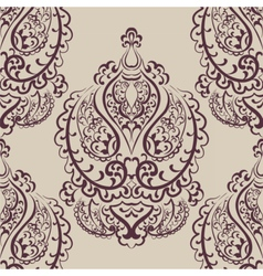 Vintage empire motif ornament pattern vector