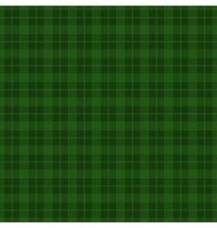 Green checkered seamless pattern background vector image