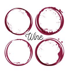 Best wine seals icon vector