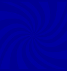Blue geometrical spiral background - graphic vector