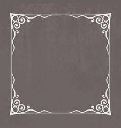 Decorative Vintage Frame vector image