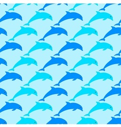 Dolphins are all around vector