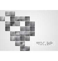 Modern tech design vector image vector image