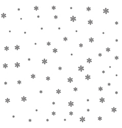 Black snow on white background vector