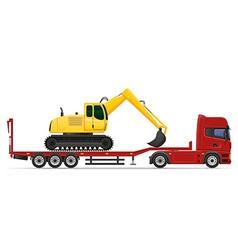 truck semi trailer concept 12 vector image