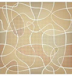 chaotic ribbon vector image vector image