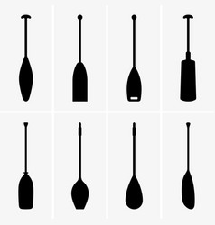 Paddles vector
