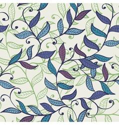 lSeamless elegant floral background vector image