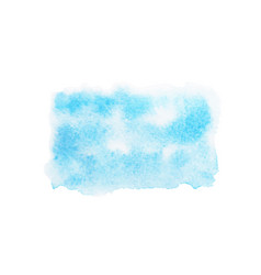 abstract blue watercolor stains vector image vector image