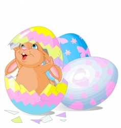 Easter surprise vector image vector image