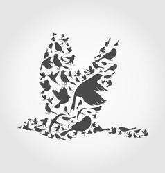 Birds8 vector image