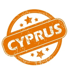 Cyprus grunge icon vector