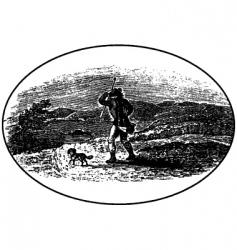 wanderer vector image