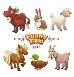 Funny farm vector