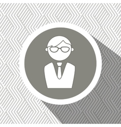 Businessman isolated design vector