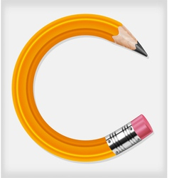 pencils concept vector image