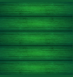 Dark green wooden planks texture vector