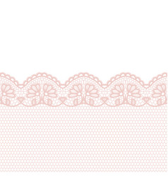 lace border invitation card vector image