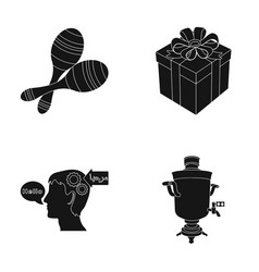 Legs translator and or web icon in black style vector