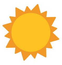 Sun solar system astronomy vector