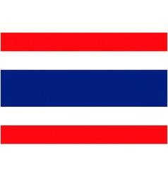 Thai flag vector