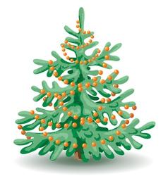 Holiday fir vector