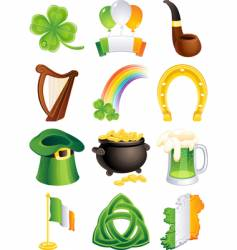 St. patrick's icon vector