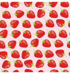 Strawberries background vector