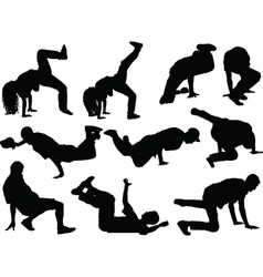 Breakdance collection - vector