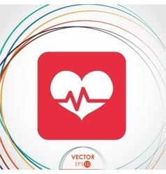 Cardio icon design vector