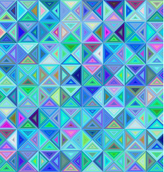 Colorful regular triangle mosaic background vector