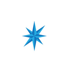 Compass logo template icon des vector