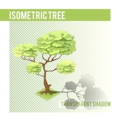 Isometric Tree 001 vector image