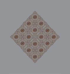 line thai vector image vector image