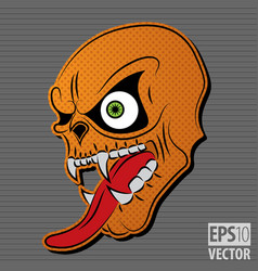 Halloween motive icon vector