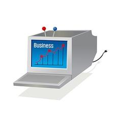 Icon computer vector