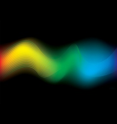 rainbow stream background vector image