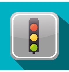 Road sign icon graphic vector image