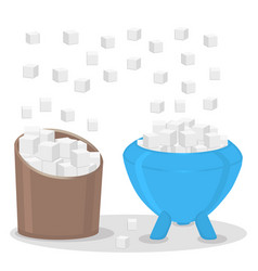 The theme sugar vector