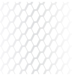 Subtle geometrical white seamless pattern vector